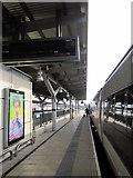 SK3635 : Derby Railway Station Platform by Roy Hughes