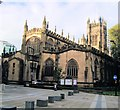 SJ8398 : Manchester Cathedral by Paul Gillett
