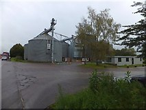 ST0307 : Grain silos on Kingsmill Industrial Estate by David Smith