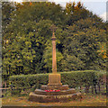 NY9365 : St John Lee Great War Memorial by David Dixon