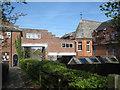 SX9374 : Trinity School, footpath at the Farm Lane entrance by Robin Stott