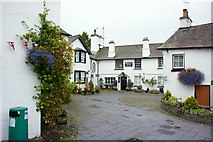 SD3598 : Village Square, Hawkshead by Paul Buckingham