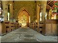 NY8773 : St Mungo's Church, Nave by David Dixon