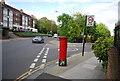 TQ3573 : Postbox, corner of Hengrave Rd by N Chadwick
