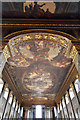 TQ3877 : Painted Hall, Greenwich - Ceiling by John Salmon
