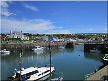 NW9954 : Portpatrick Harbour by Chris McAuley