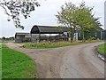 TF1874 : Dutch Barn at New Farm by Oliver Dixon