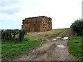 TF2179 : Straw bales at Glebe Farm by Oliver Dixon