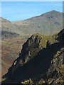 NY2202 : Yew Crags and Bow Fell by Karl and Ali