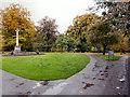 NY9364 : Hexham, Abbey Gardens by David Dixon