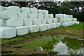 SP1718 : Silage storage at Lower Marsh Farm by Graham Horn