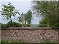 SX9786 : Railway foot crossing, Exton by Derek Harper