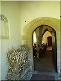 SY7699 : Inside St Martin, Cheselbourne (H) by Basher Eyre