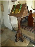 SY7699 : St Martin, Cheselbourne: lectern by Basher Eyre