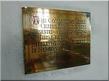 SY7699 : St Martin, Cheselbourne: memorial (D) by Basher Eyre