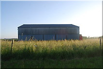 TG1508 : Barn in a field by N Chadwick
