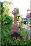 TG1508 : Bawburgh War Memorial by N Chadwick