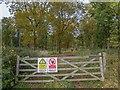SP0456 : Track through Weethley Wood by David P Howard