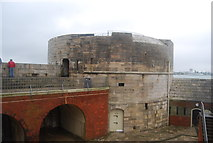 SZ6299 : The Round Tower by N Chadwick