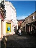 J2664 : Haslems Lane provides a pedestrian short cut between Lisburn Square and Bow Street by Eric Jones