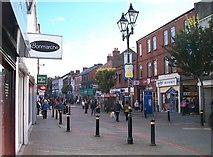J2664 : View eastwards along Bow Street, Lisburn by Eric Jones