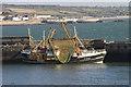SW4628 : Trawler PZ191 in Newlyn harbour by Elizabeth Scott
