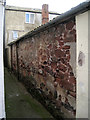 SX9472 : Old wall off George Street by Robin Stott