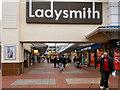 SJ9399 : Ladysmith Shopping Precinct by David Dixon