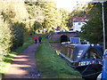 SO8484 : Approaching Hyde Lock by Gordon Griffiths