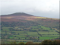 SO2718 : The Sugar Loaf at Abergavenny by Jeremy Bolwell