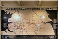 SJ8399 : Lancashire & Yorkshire Railway Tiled Mural, Manchester Victoria Station by David Dixon