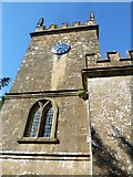 ST5707 : Melbury Osmond Church: tower by Basher Eyre