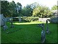 ST5707 : Melbury Osmond Churchyard (13) by Basher Eyre