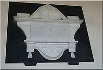 ST5707 : Melbury Osmond Church: memorial (d) by Basher Eyre