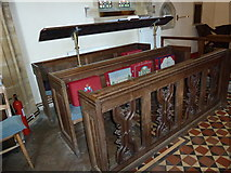ST5707 : Inside Melbury Osmond Church  (VII) by Basher Eyre