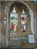 SY5697 : SS Andrew & Peter, Toller Porcorum: stained glass window (a) by Basher Eyre