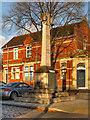 SJ8690 : Heaton Mersey War Memorial by David Dixon