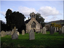 SO2813 : St Faith's Church, Llanfoist by John Lord