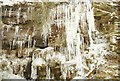 SK0174 : Icicles at Shooter's Clough by Richard Croft