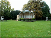 ST7465 : Royal Victoria Park bandstand, Bath by Jaggery