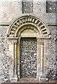 TR2650 : North Doorway by Richard Croft