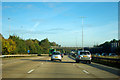 SU4713 : Westbound M27 - start of concrete surface by Robin Webster