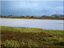 SD3642 : River Wyre northwest of Hambleton by John H Darch