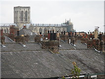 SE6052 : York Minster above the Roof by Dave Pickersgill