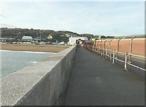 TR3140 : The landward exit from Admiralty Pier, Dover by John Baker