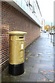 TL4410 : Gold Post Box, Post Office Road by Oast House Archive