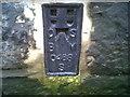 SN5882 : OSBM Flush Bracket S0468 - Aberystwyth, County Hall by N Scott