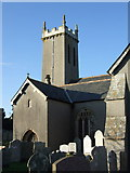 SX4563 : St Andrew's church, Bere Ferrers by Dave Kelly
