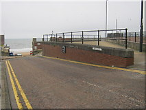 NZ3572 : Watts Road in Whitley Bay by peter robinson