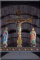 TG2308 : St John the Baptist, Timberhill - Rood by John Salmon